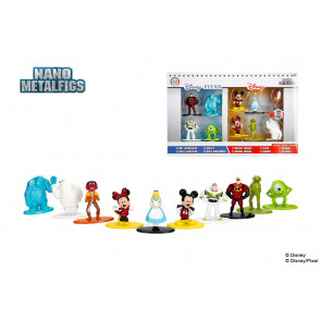 Disney Nano Metalfigs Diecast Minifiguren 10-er Pack Wave 1 4 cm