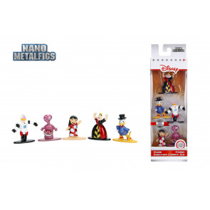 Disney Nano Metalfigs Diecast Minifiguren 5-er Pack Wave 2 4 cm