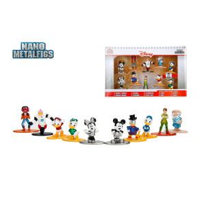 Disney Nano Metalfigs Diecast Minifiguren 10-er Pack Wave 2 4 cm