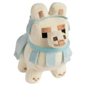 Minecraft Baby Lama Weiß/Babyblau Happy Explorer Plüschfigur 16 cm