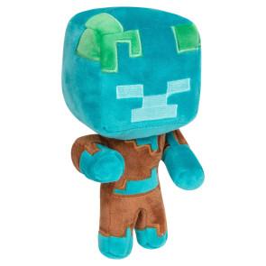 Minecraft Happy Explorer Plüschfigur Drowned 18 cm