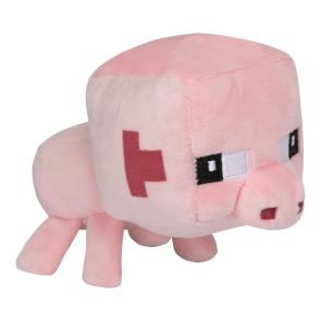 Minecraft Mini Crafter Plüschfigur Schwein 11 cm
