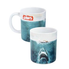 Der weiße Hai Tasse Logo