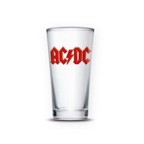 AC/DC Bierglas Logo