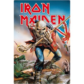Iron Maiden Blechschild Trooper 20 x 30 cm