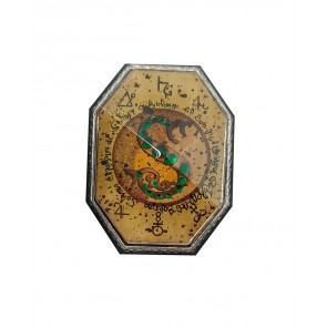 Harry Potter Metall Ansteck-Button Slytherins Medaillon LC Exclusive