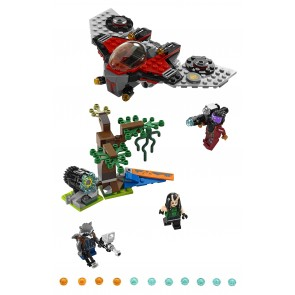 LEGO® Marvel Super Heroes™ Guardians of the Galaxy Vol. 2 Ravager-Attacke