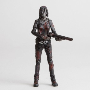 The Walking Dead Actionfigur Alpha (Bloody B&W) 15 cm
