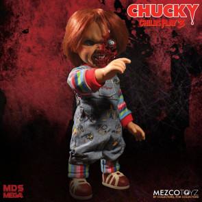 Chucky Die Mörderpuppe Pizza Face Chucky Sprechende Puppe 38 cm