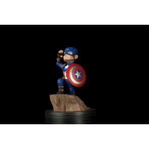 Marvel Comics Q-Fig Figur Captain America Civil War 11 cm