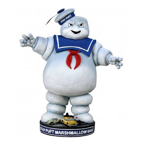 Ghostbusters Stay Puft Head Knocker Wackelkopf-Figur 18 cm