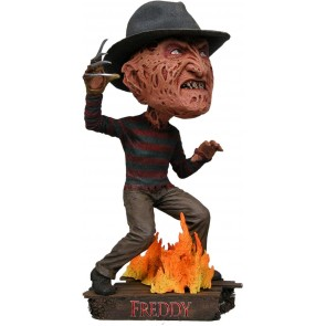 Nightmare On Elm Street Head Knocker Wackelkopf-Figur Freddy Krueger 18 cm