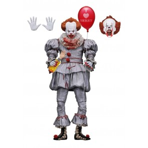 Stephen Kings Es Pennywise 2017 Actionfigur Ultimate (I Heart Derry) 18 cm