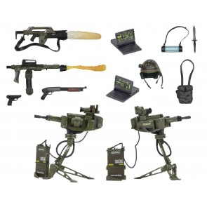Aliens Zubehör-Set für Actionfiguren USCM Arsenal Weapons Accessory Pack