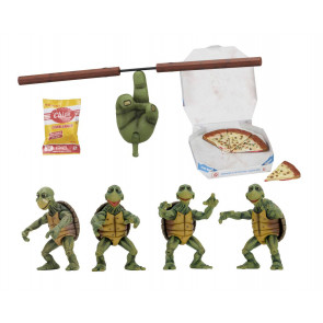 Teenage Mutant Ninja Turtles 4er-Pack Baby Turtles Actionfiguren 10 cm