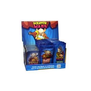 Scratch Wars Sammelkartenspiel Display