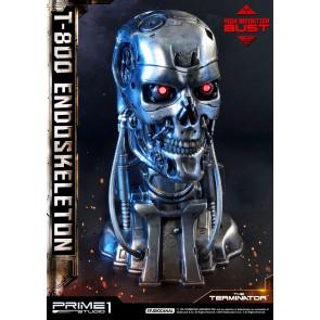 Terminator T-800 Endoskeleton Head High Definition Büste 22 cm