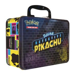 Pokémon Meisterdetektiv Pikachu Sammelkarten Sammelkoffer