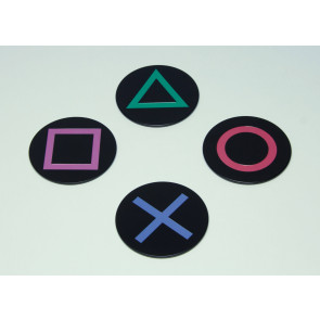 PlayStation Untersetzer 4er-Pack Icons