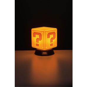Super Mario 3D Lampe Fragezeichen-Block 10 cm