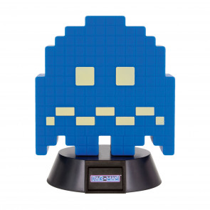 Pac-Man 3D Icon Lampe Turn To Blue Ghost 10 cm
