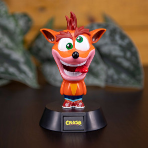Crash Bandicoot 3D Icon Lampe Crash Bandicoot 10 cm