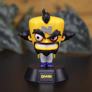 Crash Bandicoot 3D Icon Lampe Doctor Neo Cortex 10 cm