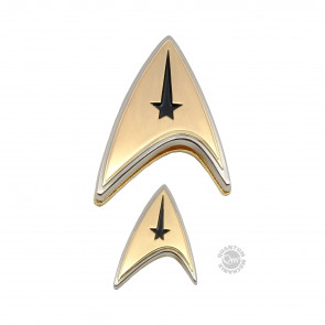 Star Trek Discovery Enterprise Command Ansteck-Pin & Ansteck-Button Set