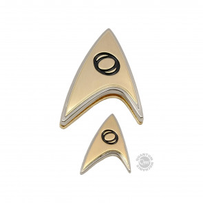 Star Trek Discovery Science Ansteck-Pin & Ansteck-Button Set