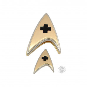 Star Trek Discovery Medical Ansteck-Pin & Ansteck-Button Set