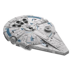 Star Wars Solo Build & Play Modellbausatz mit Sound & Leuchtfunktion 1/164 Millennium Falke