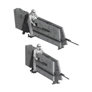 Star Wars Solo Build & Play Modellbausatz Doppelpack 1/28 Imperial Patrol Speeder