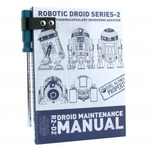 Star Wars A5 Notizbuch mit Kugelschreiber R2D2 Droid Maintenance Manual