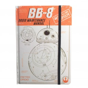 Star Wars Rogue One A5 Notizbuch BB-8 Droid Maintenance Manual