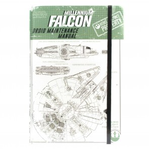 Star Wars Rogue One A5 Notizbuch Millennium Falcon Droid Maintenance Manual