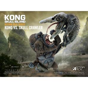 Kong Skull Island Kong vs Crawler Deform Real Series Soft Vinyl Statue 23 cm