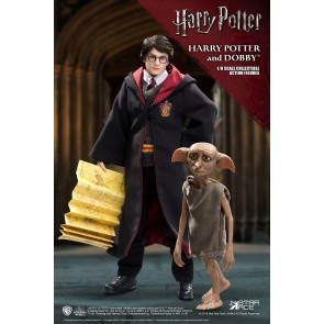 Harry Potter & Dobby Real Master Series 1/8 Actionfiguren Doppelpack 16-23 cm