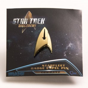 Star Trek Discovery Ansteck-Pin Command Badge