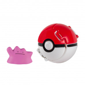 Pokémon Throw 'n' Pop Pokéball mit Figur Ditto