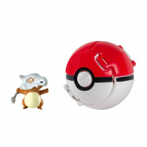 Pokémon Throw 'n' Pop Pokéball mit Figur Tragosso