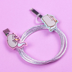 Pusheen USB Ladekabel 2in1 Einhorn