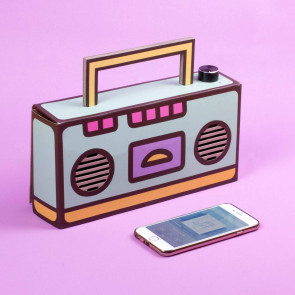 Pusheen Bluetooth-Lautsprecher DIY Boombox