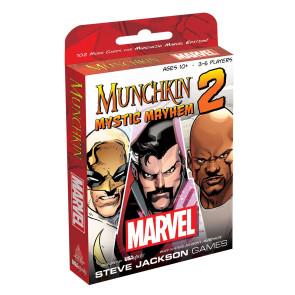 Munchkin Kartenspiel-Erweiterung Marvel 2: Mystic Mayhem
