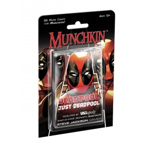 Munchkin Kartenspiel-Erweiterung X-Men: Deadpool Just Deadpool