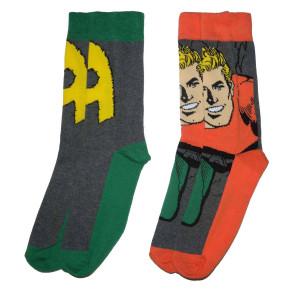 DC Comics Herren Socken Doppelpack Aquaman