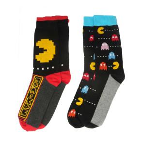 Pac-Man Herren Socken Doppelpack