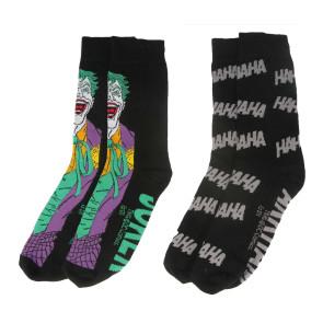 DC Comics Herren Socken Doppelpack Joker
