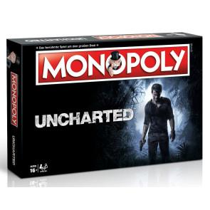 Uncharted Brettspiel Monopoly *Deutsche Version*