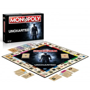 Uncharted Brettspiel Monopoly *Deutsche Version*