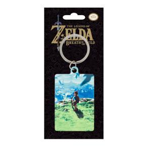 Legend of Zelda Breath of the Wild Metall Schlüsselanhänger View 6 cm